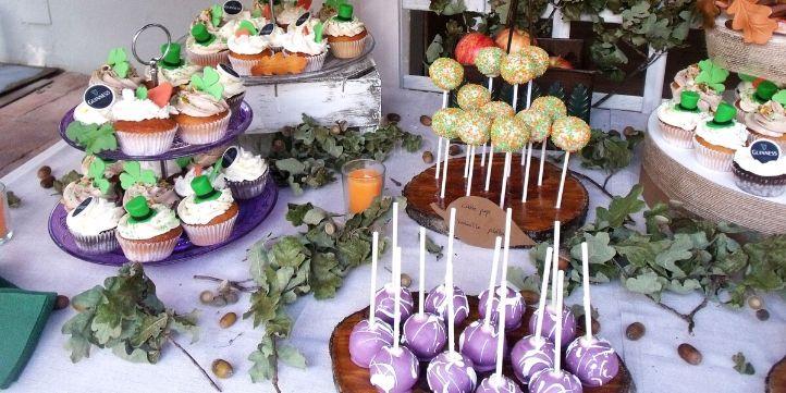 Cómo decorar mesa de chuches para boda