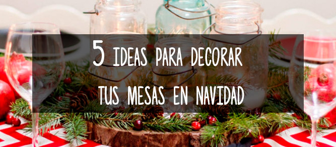 view larger image ideas para decorar mesas navidad