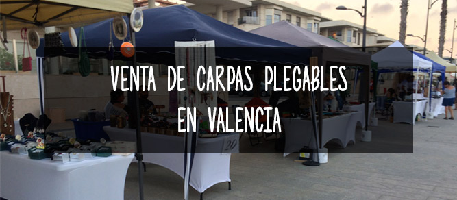 venta carpas plegables