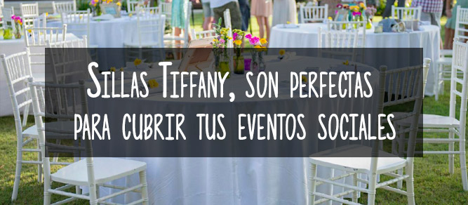sillas tiffany bodas