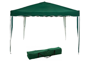 carpa de color verde