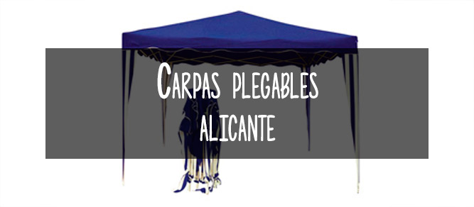 carpas plegables alicante